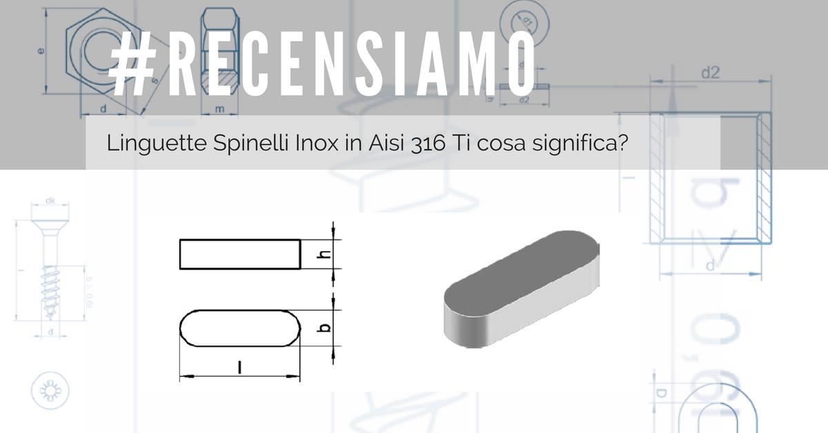 Linguette Spinelli Inox
