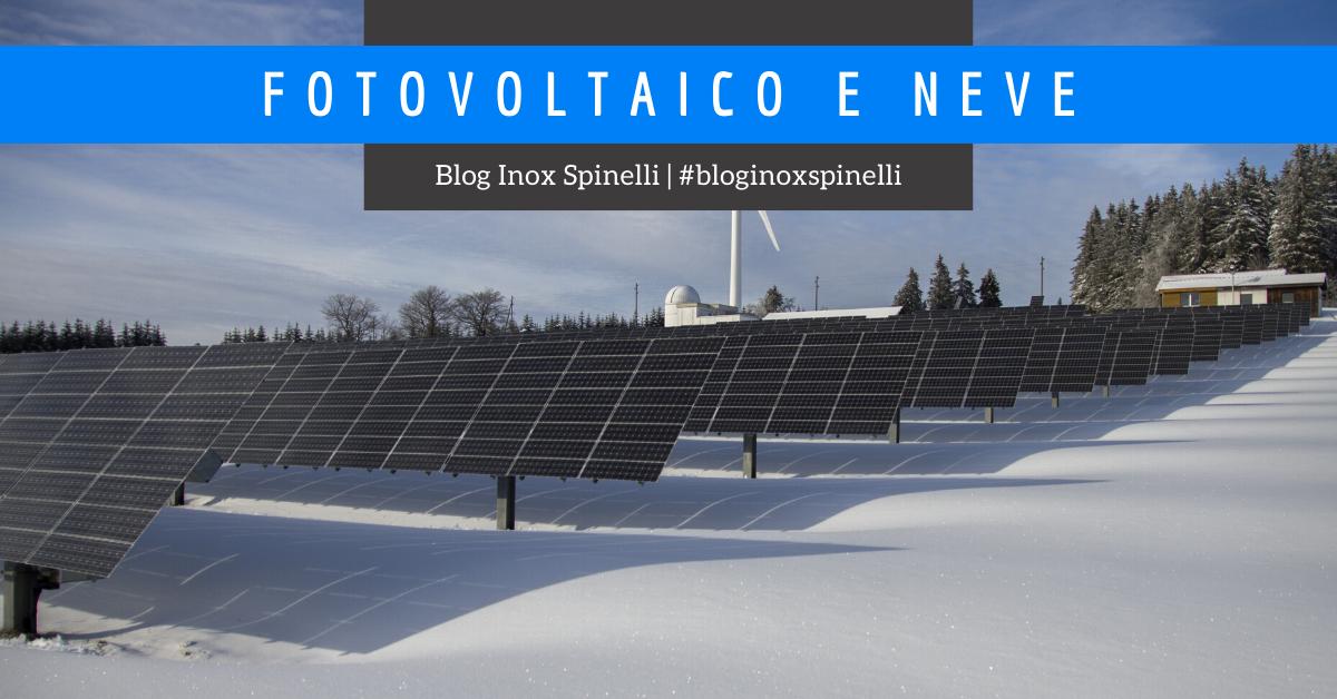 fotovoltaico e neve